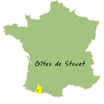 carte france gite pyrenees location stouet
